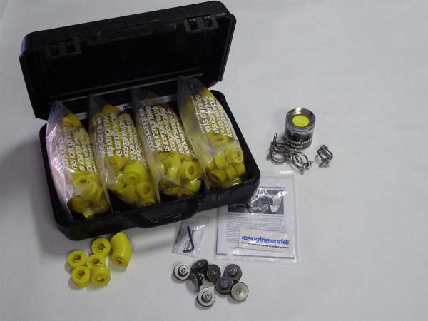 "icengineworks PRO Plus System / 1625 Serie / 1-5/8"" (42mm) - 8 Zylinder Kit (Schritt 1 & 3)"