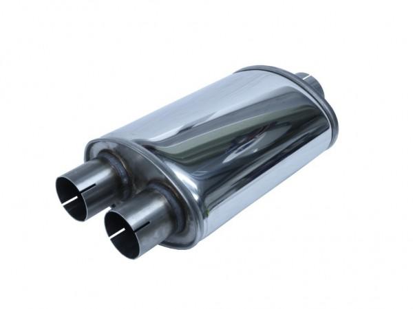 Simons Split - 76mm Schalldämpfer - LEISE