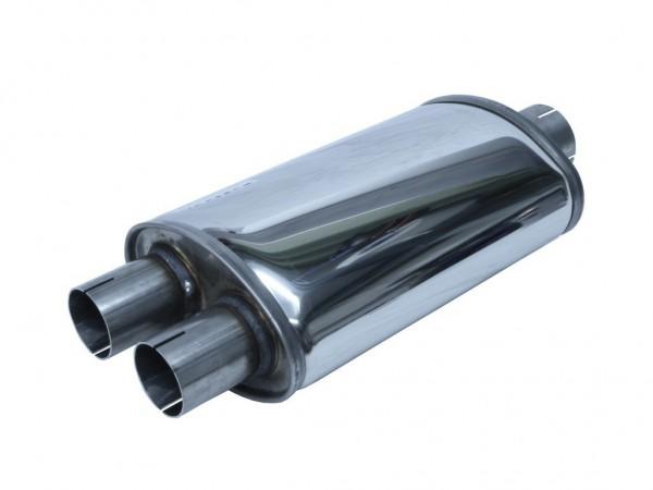 Simons Split - 63,5mm Schalldämpfer - LEISE