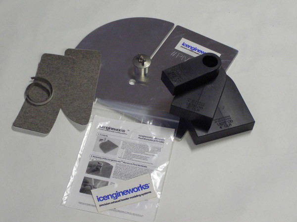 "icengineworks BASIC Plus System / 2000 Serie / 2"" (51mm) - 4 Zylinder Kit (Schritt 1 & 3)"