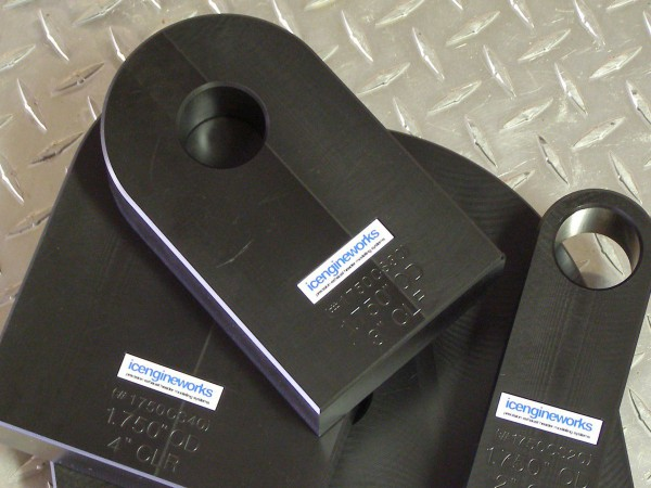 icengineworks HDPE Platzhalter Set / 2000 Serie / 3 Teile