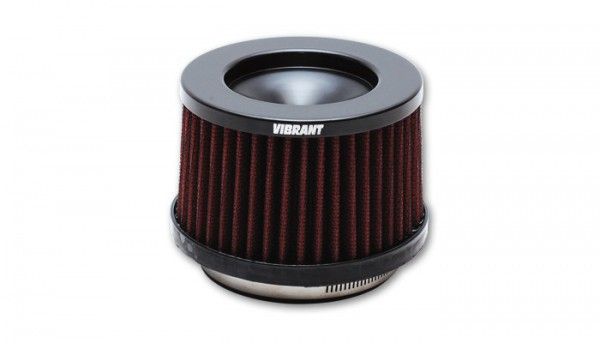 Vibrant Perfomance Performance Luftfilter - 101mm Einlass - Kurz